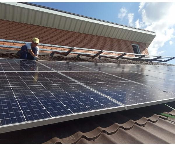 Гібридна сонячна станція 5 кВт м.Бровари